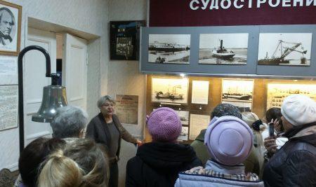 Состоялась экскурсия в Музей истории ПАО «Красное Сормово»
