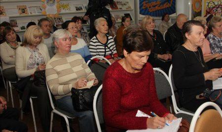 12 октября слушатели Университета старшего поколения побывали на лекции о защите прав пожилых нижегородцев и профилактике происшествий с их участием