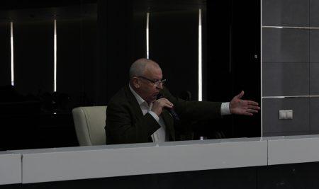 22 октября состоялась лекция Георгия Молокина «Поэзия как кино. Александр Твардовский»