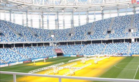 Слушатели Университета старшего поколения сходили на экскурсию на стадион«Нижний Новгород»