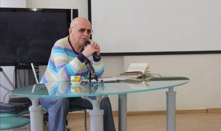 29 апреля состоялась лекция Георгия Молокина о Пастернаке