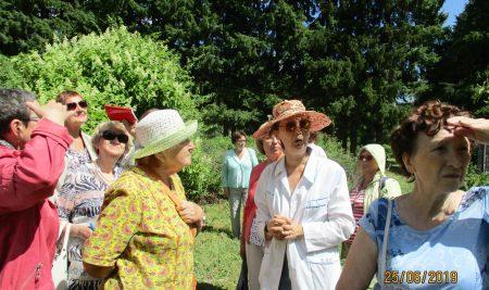 Слушатели Университета старшего поколения посетили Ботанический сад
