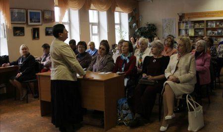 14 августа состоялось организационное собрание и собеседование нижегородцев старшего поколения для участия в проекте «Народный экскурсовод»