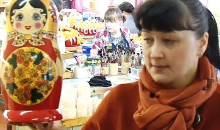 Новый видеоурок! Курс Краеведение. Фабрика «Хохломская роспись» г. Семёнов